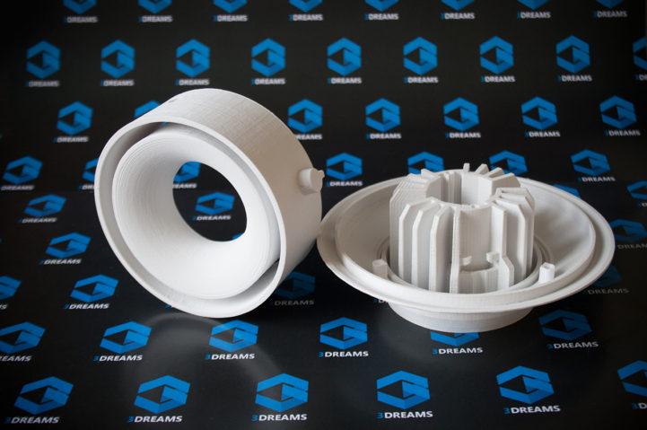 Rapid Prototyping von Teilen eines technischen Geräts