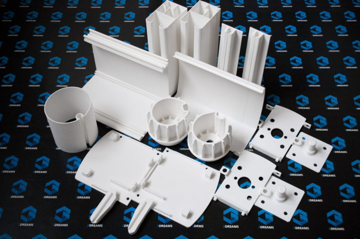 Prototypen technischer Kunststoffteile